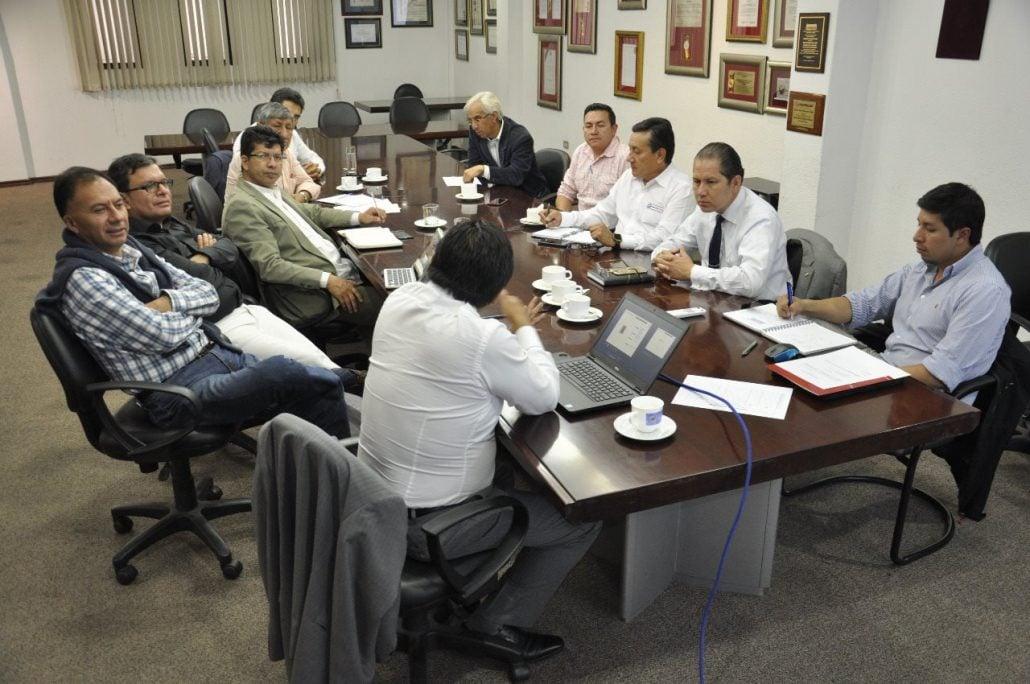 DSG participa de una reunión de trabajo con el consorcio petrolero nacional CONAPEC